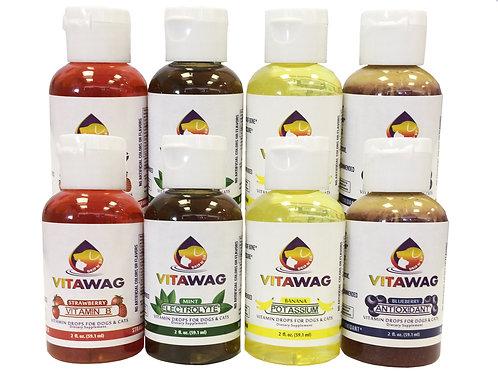 Vitawag Liquid Supplement, 8 Pack, 2 Per Flavor