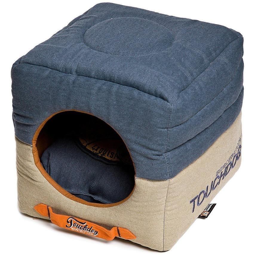 Vintage-Squared Collapsible Dog Bed