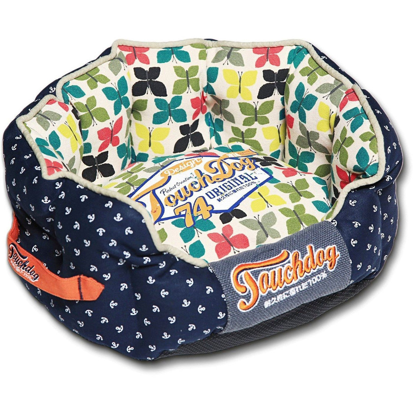 Chrpin-Avery Rounded Dog Bed