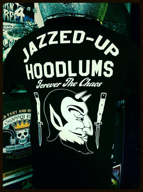 JAZZED-UP HOODLUMS switchblade devil shirt