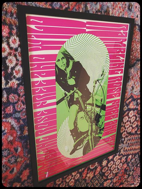 Rambling Rose Free & Wild Framed Print Brigitte Bardot