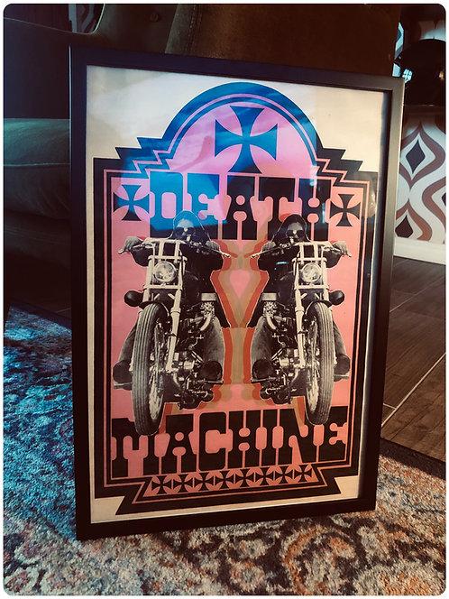 DEATH MACHINE Framed Print