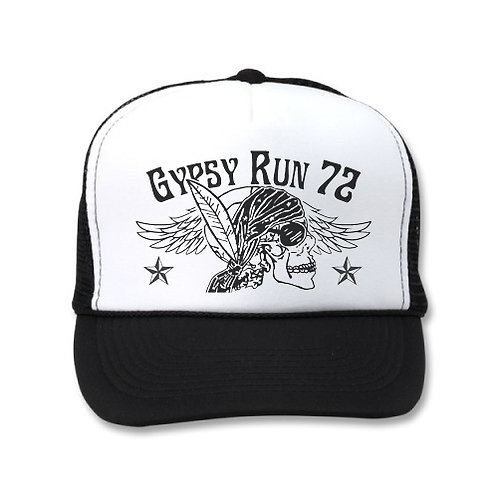 GYPSY RUN 72 WHITE/BLACK HATS