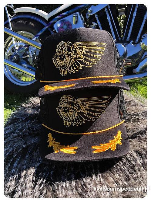 Mechanical Eagle Scrambled Egg Captain hat
