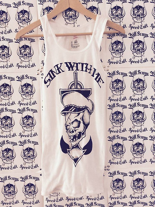 """Sink With Me' anchor death Wife Beater!"