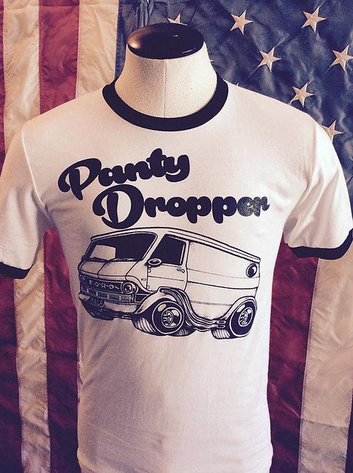 """PANTY DROPPER"" Vannin' ringer tee"