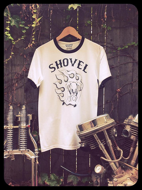 SHOVEL Fire Engine ringer shirts