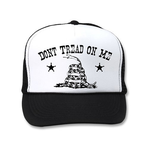 DON'T TREAD ON ME WHITE/BLACK HATS
