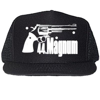 44 MAGNUM BLACK TRUCKER HATS