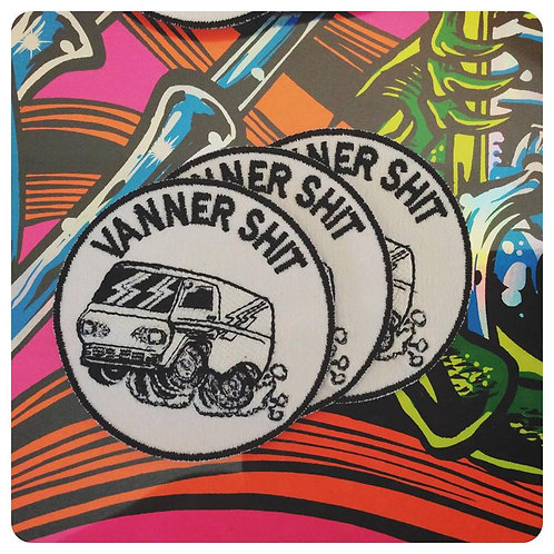 """Vanner Shit 3"""" Round Embroidered Patch"""