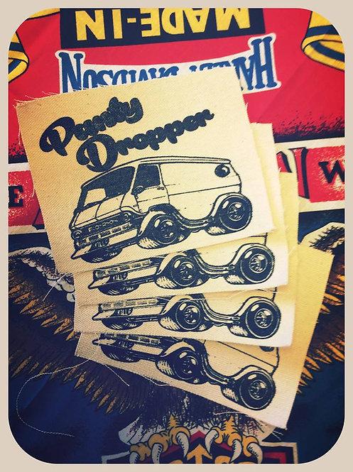 Panty Dropper Van canvas patch