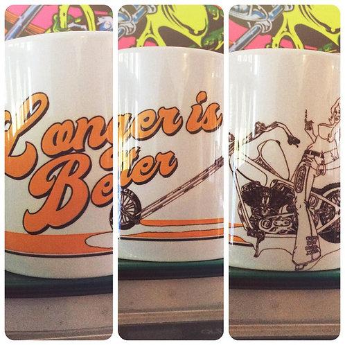 Longer Is Better 11oz ceramic mug