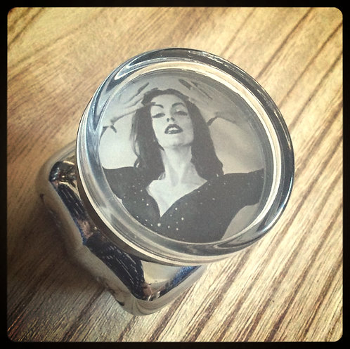 Spinning Vampira Suicide Steering Wheel Knobs