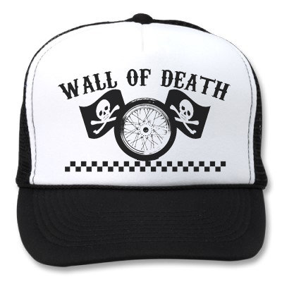 WALL OF DEATH WHITE/BLACK HATS