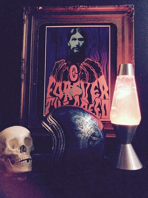 """Forever The Speed"" Killscum Rasputin print"