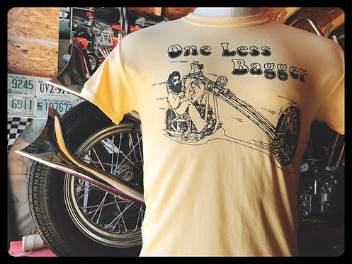 One Less Bagger Yellow Chopper Shirt