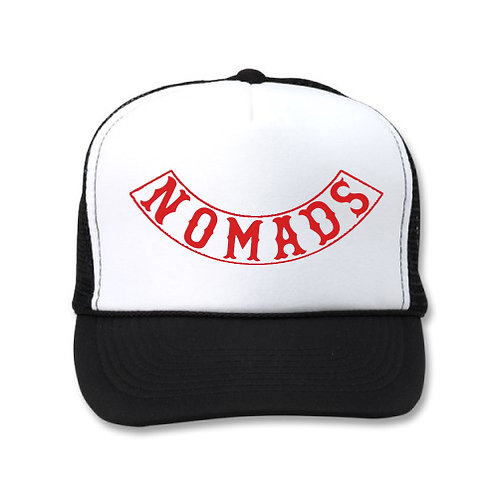 NOMADS WHITE/BLACK HATS