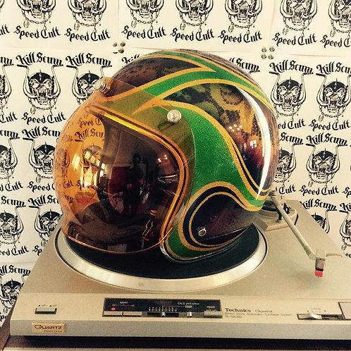 Fall Leaf Helmet