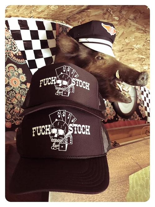 FUCK STOCK BLACK TRUCKER