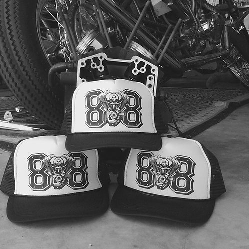 Twin Cam 88 ci engine trucker hats