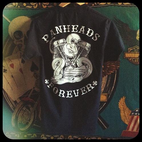 PANHEADS FOREVER Engine & snake shirt