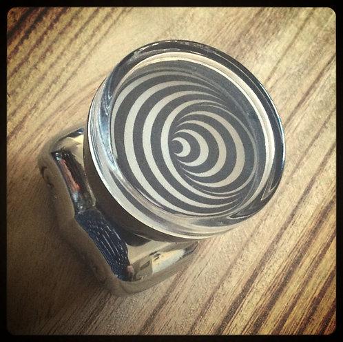 Hipnotic Circles Psychedelic Steering Wheel Knobs