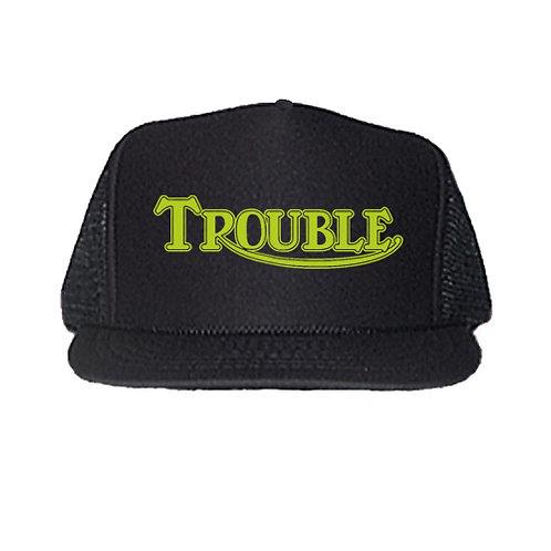 """TROUBLE"" TRIUMPH LOGO GRAPHIC TRUCKER HATS"