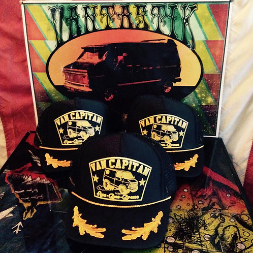 """""""Van Capitan"""" scrambled egg captain trucker hats"""