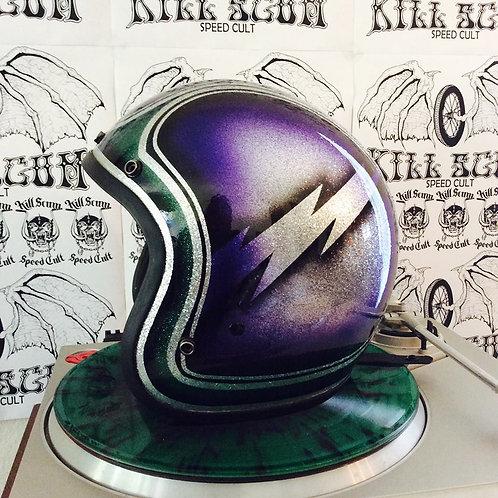 NEPTUNE STORM 3/4 open face custom helmet