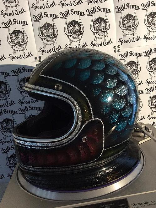 RODEO stunt wheelie full face helmet