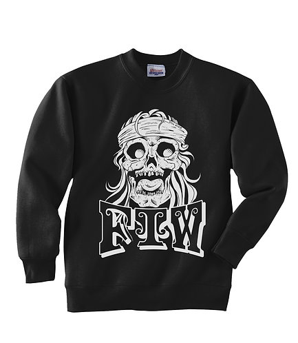 FTW BANDANA & SKULL FLEA SWEAT