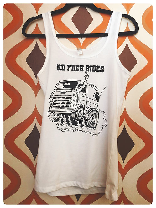 No Free Rides GIrls Tank Top