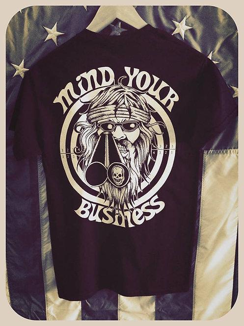 """""""Mind Your Business"""" Shotgun Willie shirt"""