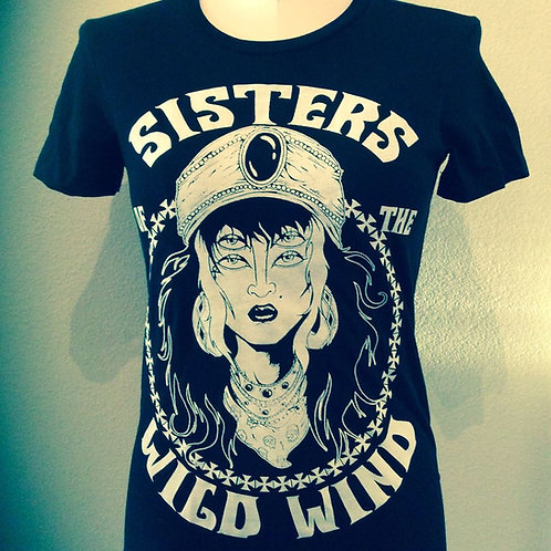 SISTERS OF THE WILD WIND GIRL TEE