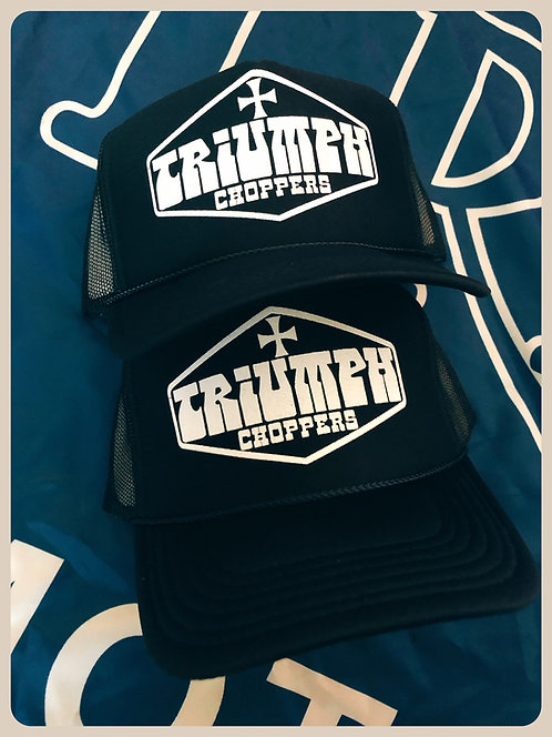 TRIUMPH CHOPPERS Navy Trucker Hat