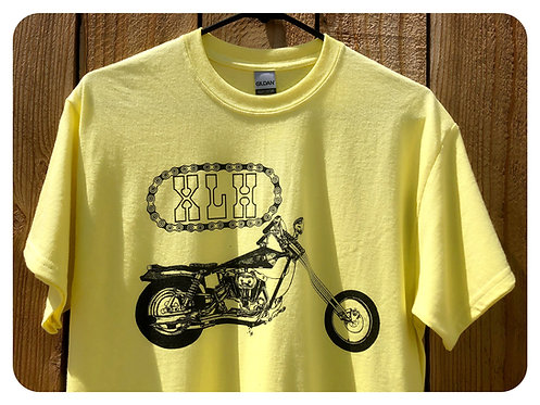 XLH Sportster Yellow Tees
