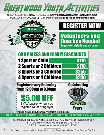 Register | BYA - Brentwood Youth Activities | United States