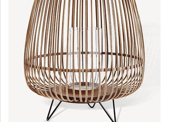 Lanterne bambou Mme Stoltz