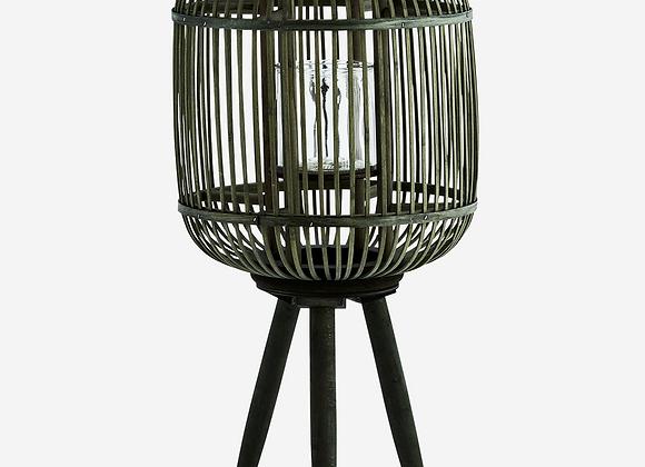 Lanterne bambou vert Mme Stlotz
