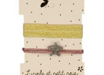 Duo de bracelets irisés - Etoile