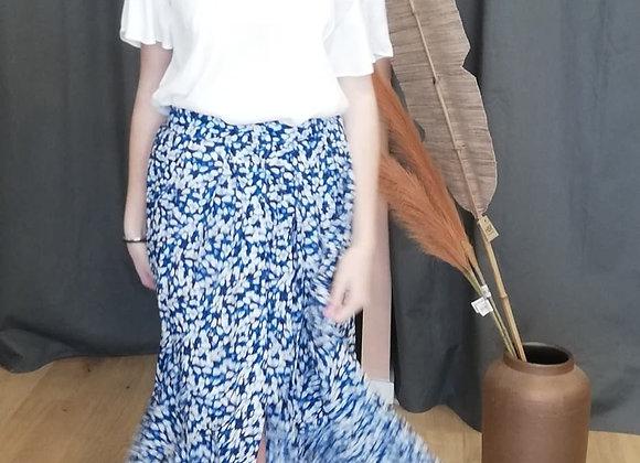 Jupe Vanessa bleue