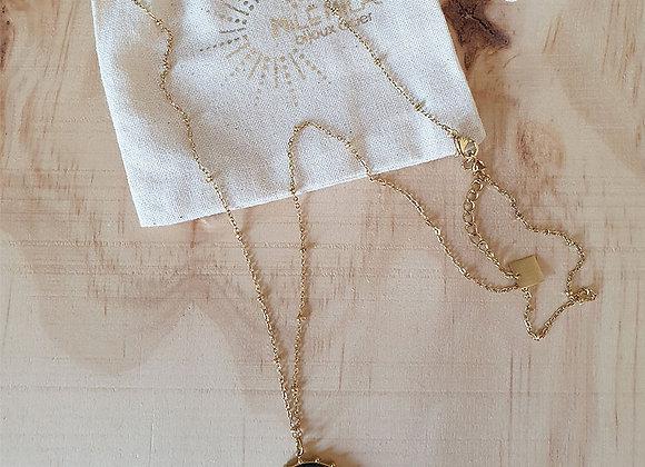 Collier pendentif inox