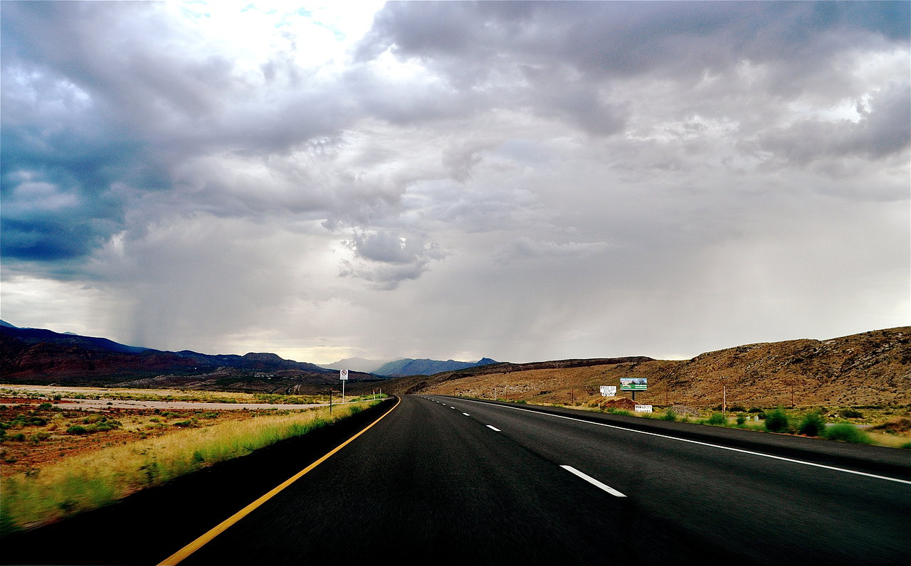 Highway 70 through Utah