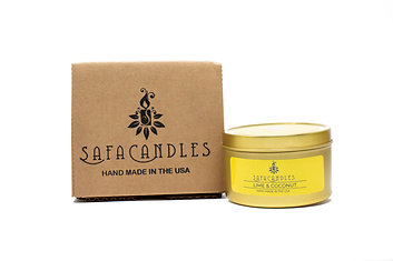 Lime & Coconut Gold Travel Tin