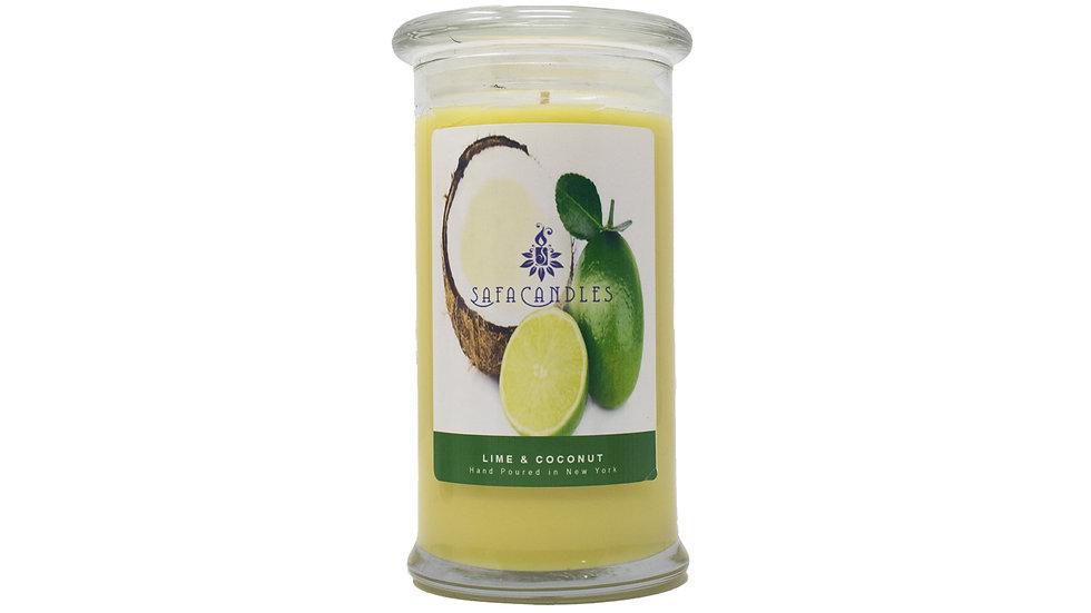 Lime & Coconut Large Jar