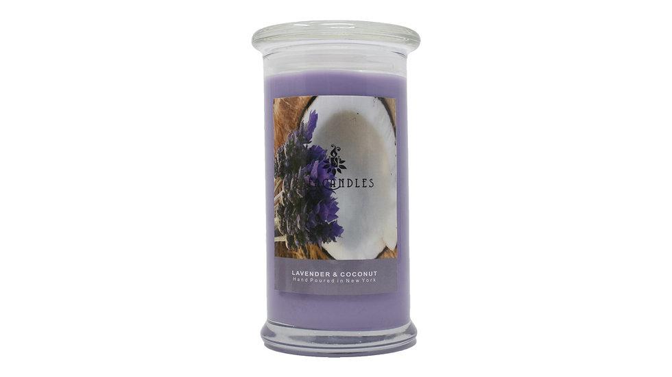 Lavender & Coconut Large Jar