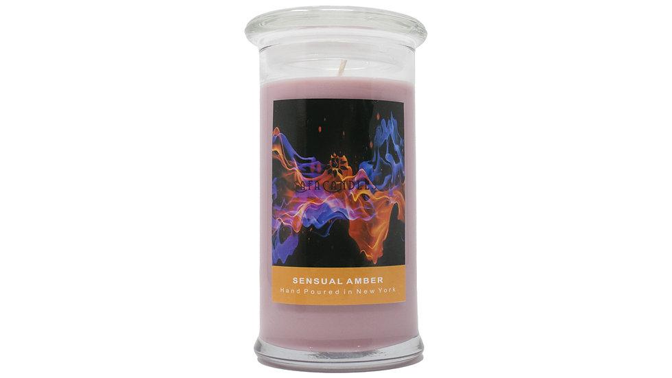 Sensual Amber Large Jar Candle