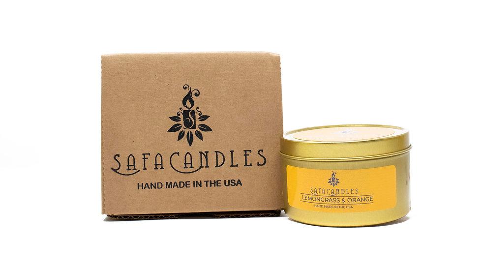 Lemongrass & Orange Gold Travel Tin