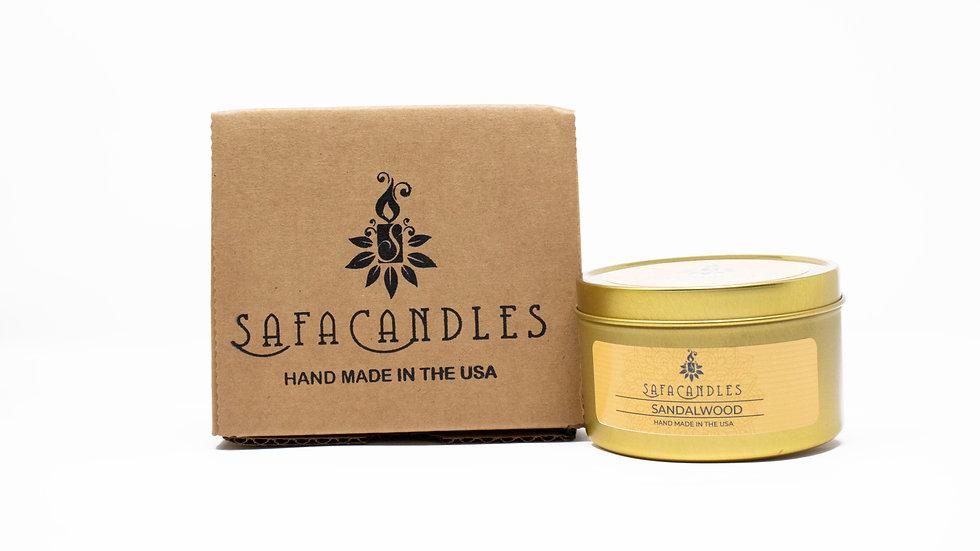 Sandalwood Gold Travel Tin