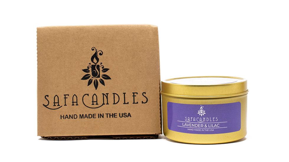 Lavender & Lilac Gold Travel Tin
